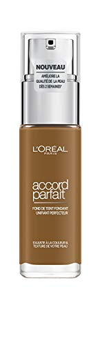 L'Oréal Paris Accord Parfait Bespoke Unifying Foundation 9 D, Sienna
