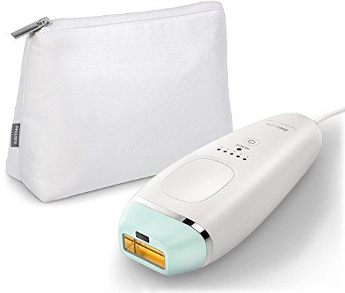Philips BRI862 / 00 Lume Dispositivo de eliminación de pelos esencial con luz pulsada para la depilación facial y corporal, azul
