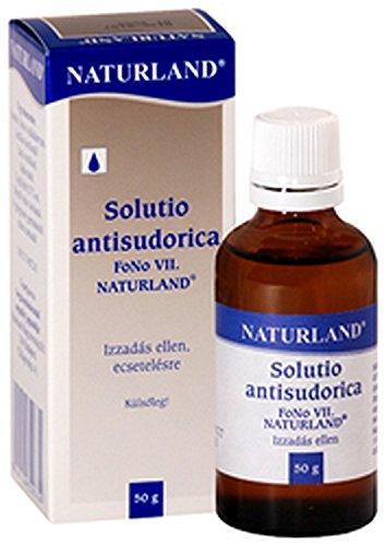 Anti-transpirante Anti-sudor 50 ml.  Efectividad de larga duración.  Contiene cloruro de aluminio.