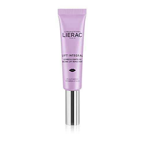Bálsamo labial integral Lierac Lift y contorno de labios antiarrugas con ácido hialurónico, para todos los tipos de piel, formado 15 ml