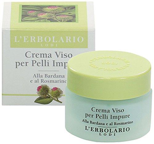 El Erbolario, Crema facial para pieles impuras, tratamiento matificante y equilibrado, 30 ml