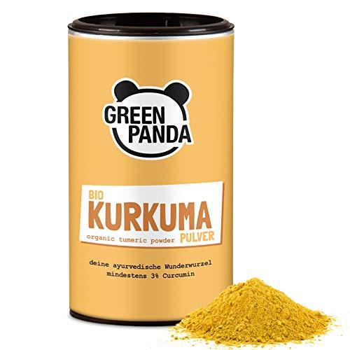 Cúrcuma orgánica en polvo de primera calidad, probada y certificada en el laboratorio, muy fina, cúrcuma orgánica perfecta para leche dorada (170 GR)