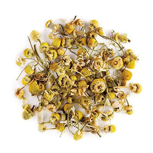 Infusión orgánica de flores de manzanilla - Calmante y relajante - Matricaria Chamomilla - Infusión de manzanilla común o alemana 200gr