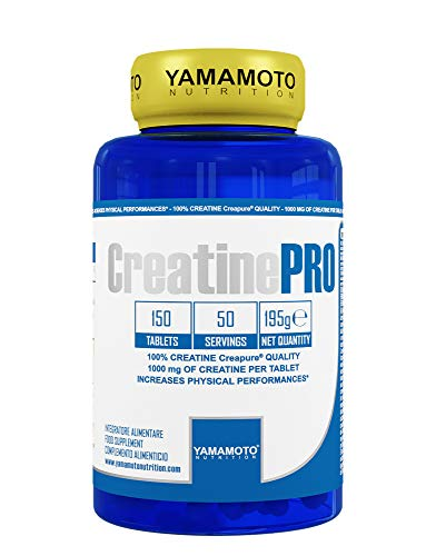 Yamamoto Nutrition Creatine PRO CreaPure © Complemento alimentario de calidad con creatina monohidrato de calidad CreaPure 150 comprimidos