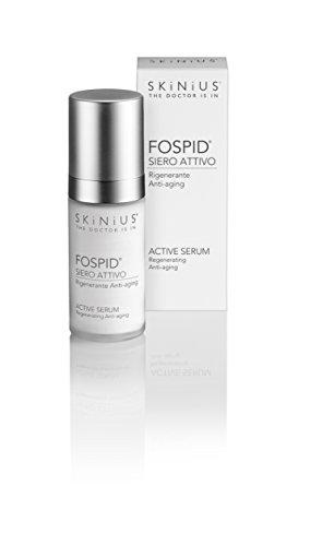 Skinius: suero facial activo FOSPID, regenerador y anti-envejecimiento, a base de fosfidina, 30 ml