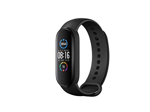 Xiaomi Band 5 Watch Fitness Tracker Hombres Mujeres Monitor de ritmo cardíaco Podómetro de muñeca Smartband Tracker de actividad deportiva Versión global