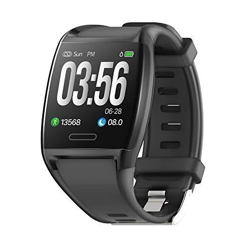 Rastreador de fitness HalfSun, pulsera de reloj de fitness Presión arterial Monitor de ritmo cardíaco Muñeca Impermeable IP67 Reloj inteligente para hombres y mujeres ...