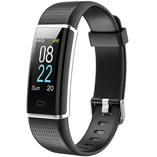 Reloj inteligente para fitness Fitness Home Women Tracker Fitness Monitor de ritmo cardíaco de la muñeca Podómetro Calorías Reloj deportivo para el sueño Impermeable IP68 whatsapp ...
