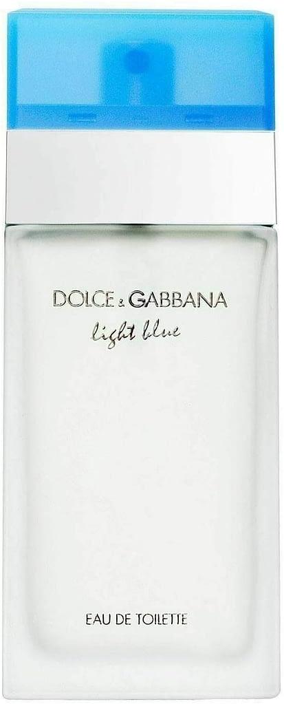 Light Blue es una de las opciones más populares para los perfumes femeninos