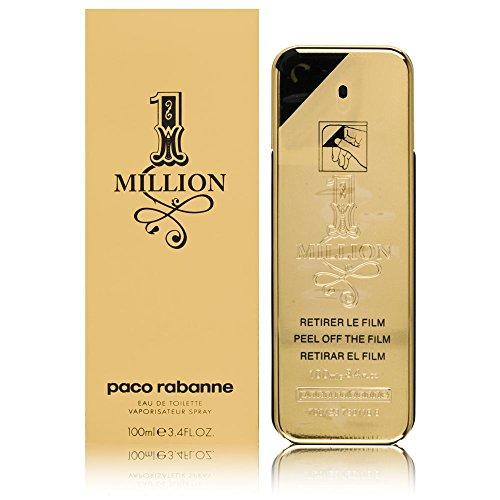 Paco Rabanne 1 Million Eau de Toilette, para hombre, 100 ml