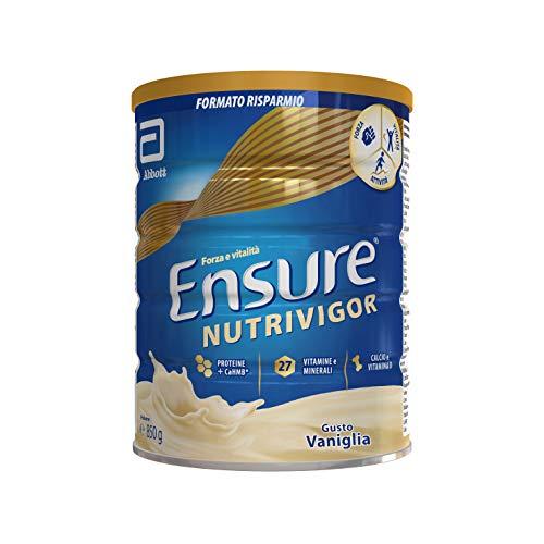 Asegúrese el suplemento NutriVigor en polvo, multivitamínico multimineral con 27 vitaminas y minerales Complemento alimentario con proteínas, calcio y HMB |  Embalaje ...