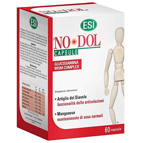 Esi No Dol - Suplemento alimenticio para el dolor articular y muscular, 60 cápsulas