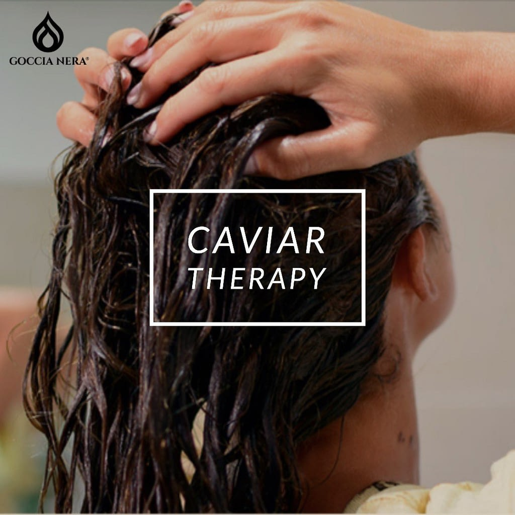 Terapia de caviar para el pelo