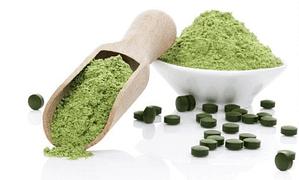 suplemento de algas espirulina