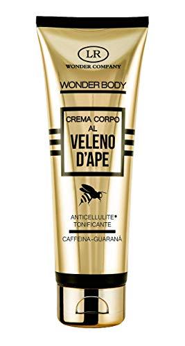 Wonder Body, crema corporal anticelulítica con veneno de abeja, cafeína y guaraná, tonificante (1x125ml) - LR Wonder Company