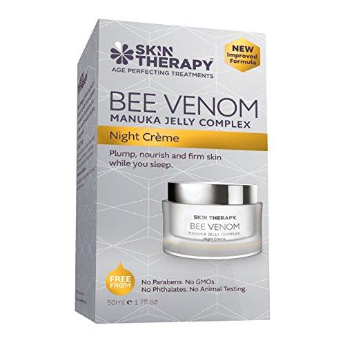 Crema nocturna anti-envejecimiento con veneno de abeja con terapia de la piel con veneno de abeja - 50 ml