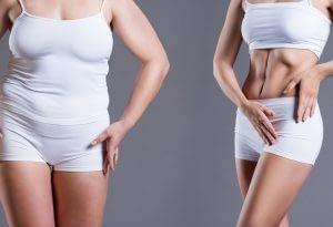 Electroestimulador abdominal antes de después