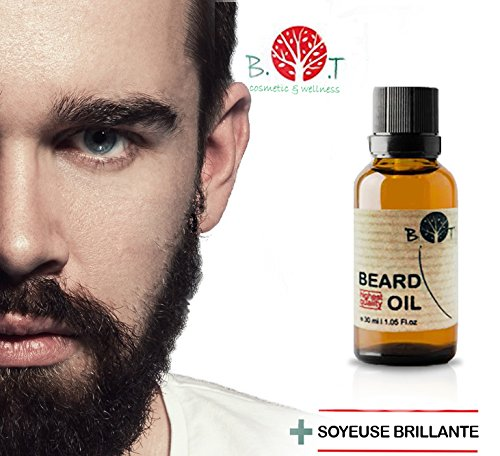 Aceite de barba 3 en 1: aceite, suero y fluido estimulante del crecimiento, 15 ml