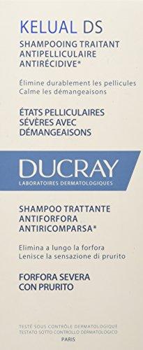 Ducray Kelual S Champú anti-recurrencia anti-caspa, 100 ml