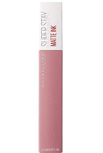 Maybelline New York SuperStay Matte Ink Lip Tint, lápiz labial líquido mate de larga duración, Dreamer (10), 5 ml