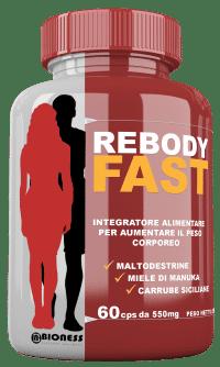Reincorpore suplemento de masa muscular rápida