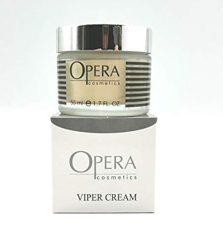OPERA VIPER Crema de suero de víbora para el cuidado de la piel: crema hidratante para la cara con efecto similar al botulí, basada en veneno de víbora, crema antiarrugas para la piel ...
