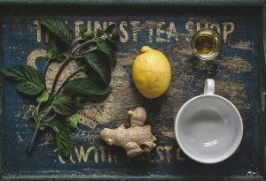 Complementos para problemas de próstata té verde y jengibre