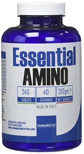 Yamamoto Nutrition Essential AMINO suplemento de aminoácidos esenciales 240 comprimidos