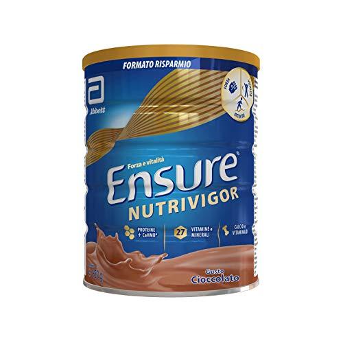 Asegúrese del suplemento NutriVigor en polvo, multivitamínico multimineral con 27 vitaminas y minerales, suplemento Comida con proteínas, calcio y HMB, paquete ...