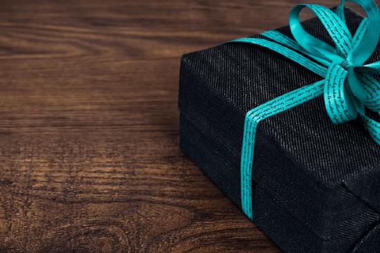 Paquete de regalo para San Valentín hombre