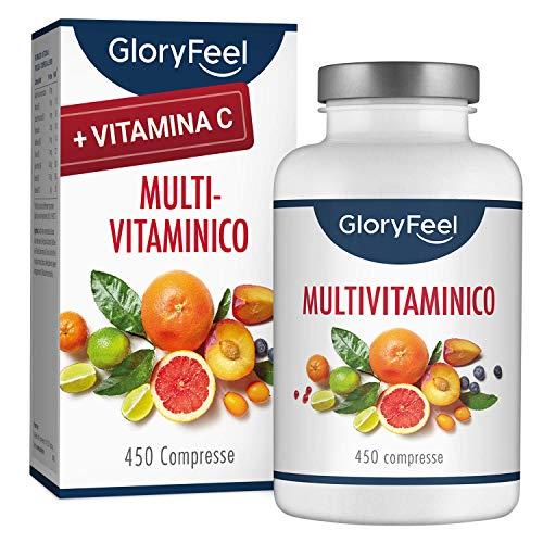 Suplemento multivitamínico y multimineral |  450 tabletas (suministro superior a 1 año) |  Vitaminas A, B, C, D3, E, calcio, zinc, etc.  |  Vitaminas y minerales para hombres y mujeres |  ...