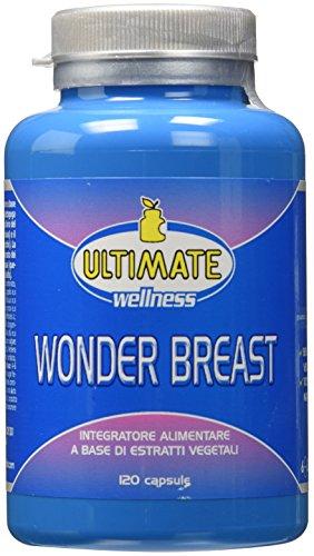 Ultimate España - Wonder Breast: favorece la firmeza, firmeza y volumen de los pechos de una manera natural y progresiva: unos pechos más voluminosos y altos sin ...