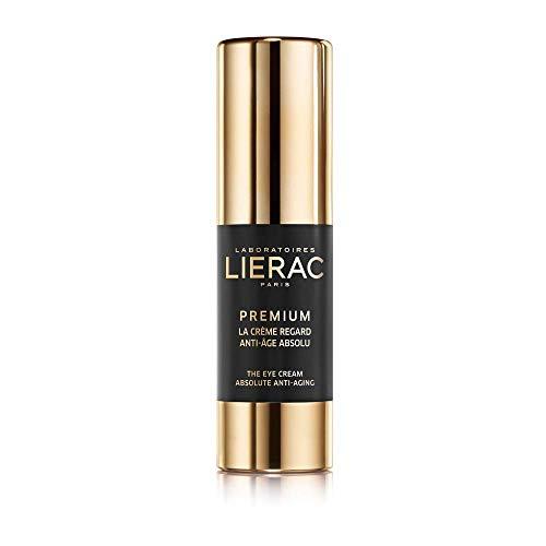 Crema contorno de ojos anti-envejecimiento Lierac Premium con ácido hialurónico, para todos los tipos de piel, formado 15 ml