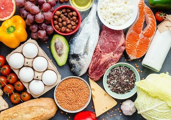 Dieta equilibrada de calorías