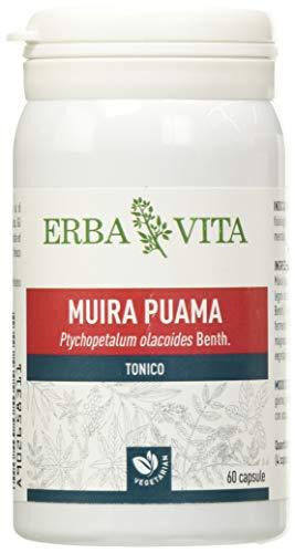 Suplemento alimenticio Erba Vita de Muira Puama - 60 cápsulas