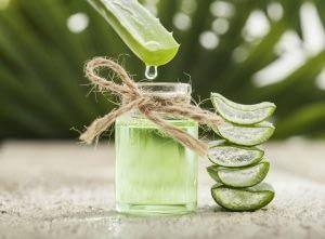 remedio seco para el cuero cabelludo con aloe vera
