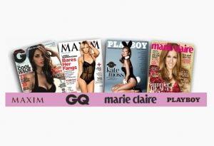 Vip s Lips en las mejores revistas