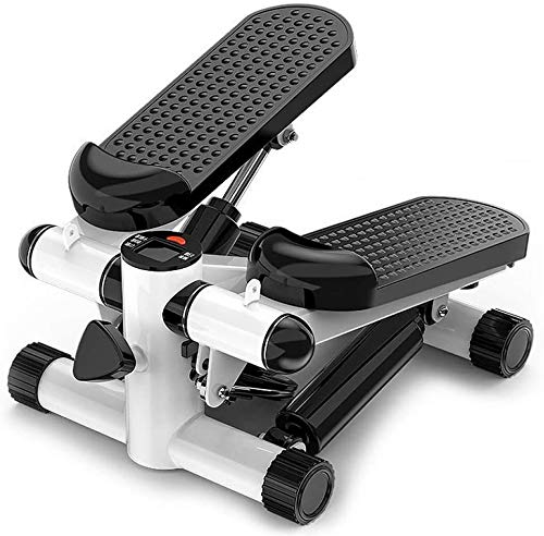 Best Goods 2 en 1 Mini Stepper Hombre, Small Fitness Fitness Tool y Pozidriv Home Workout, con pantalla