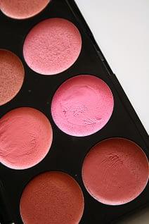 Color de color rosa crema