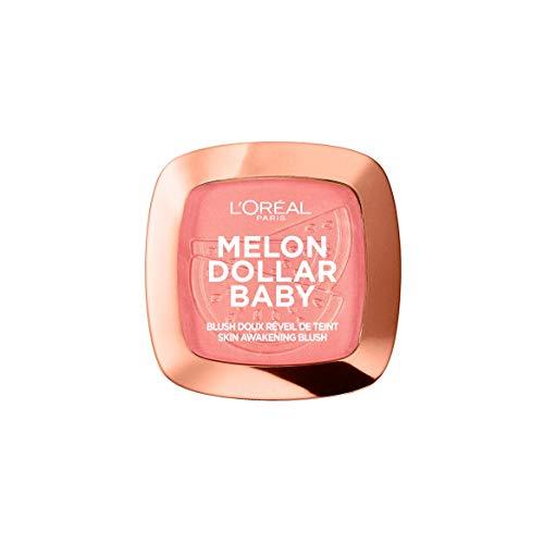 L'Oréal Paris Wake Up And Glow Blush Melon Dollar Baby Watermelon Addict 03