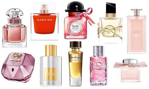 Perfumes femeninos familias olfativas