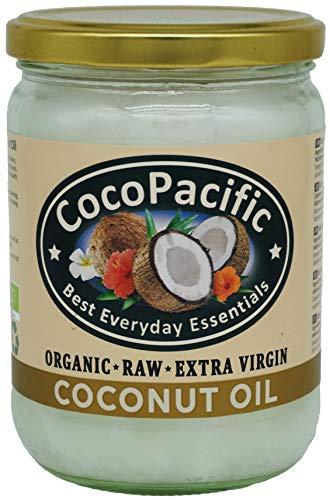 CocoPacific, aceite de coco virgen extra orgánico sin refinar, 500 ml