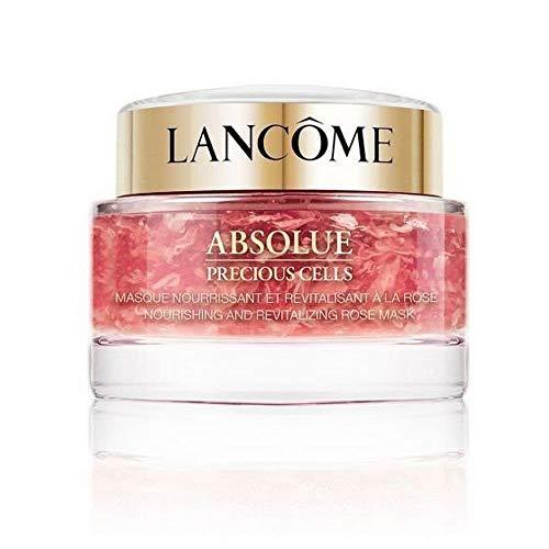 Lancôme Absolue Precious Cells Masque à la Rose Máscara facial antienvejecimiento, tratamiento nocturno antiarrugas, máscara calmante Puede 75 ml