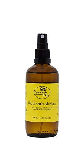 Aceite de árnica Montana - 100 ml - Indicado para aliviar el dolor muscular.  Favorece la reabsorción de contusiones y hematomas.  También ideal para hacer un masaje antes y ...