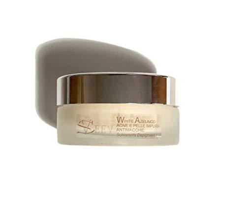 Seev Cosmeceutical Mask White |  El ácido kójico y ácido azelaico altamente iluminando regulan la producción de manchas de sebo y pieles grasas 50 ml