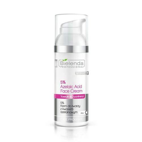 Bielenda Profesional anti acné 5% crema facial con ácido azelaico d-pantenol 50 ml