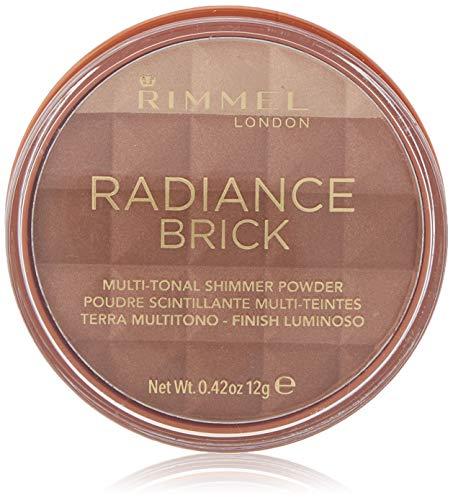 Rimmel número 001 Radiance Brick Bronzer, 12 g