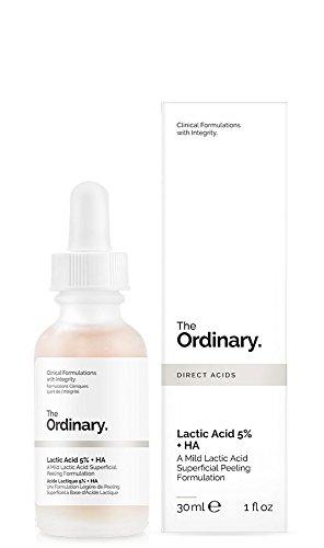 Sérum Exfoliante facial con ácido láctico - Ácido láctico 5% + HA 2% - 30 ml - El ordinario