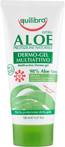 Equilibra el cuerpo, el dermo-gel de aloe, el gel calmante a base de aloe vera, juega una acción protectora, la crema corporal refrescante y regeneradora para el enrojecimiento y el malestar ...