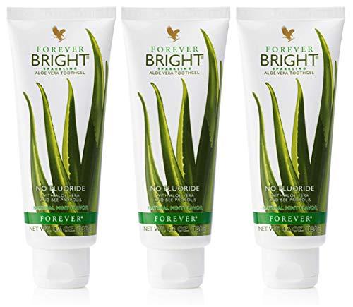 Gel de dientes Forever Bright Aloe Vera Gel de dientes 3 x 100 ml